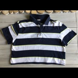 Garage Cropped Polo top
